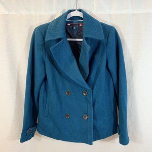 Tommy Hilfiger Peacoat Jacket Double Breasted Blue